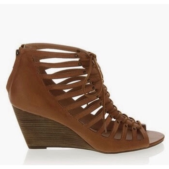 Nwt Steven By Steven Madden Tan Lace Up